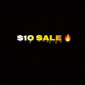 $10 SALE!! Anything with a 🔥symbol $10!!